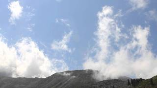 preview picture of video 'Timelapse. mountain landscape'