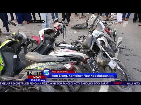 Kecelakaan Maut di Semarang Disebabkan Truk Rem Blong NET 5