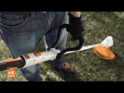 Stihl FSA 56 in Fairbanks, Alaska - Video 3