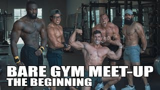 Bare Gym Power Lifting Seminar/Meet-Up: Part One, Meeting everybody