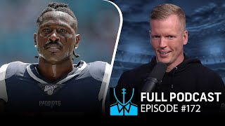 Antonio Brown landing spots, Allen/Mahomes throwing contest | Chris Simms Unbuttoned (Ep. 172 FULL)