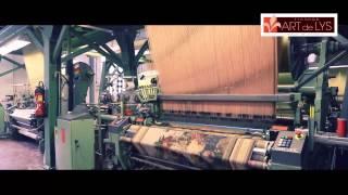 Производство гобеленов и подушек на фабрике Art De Lys (Франция)