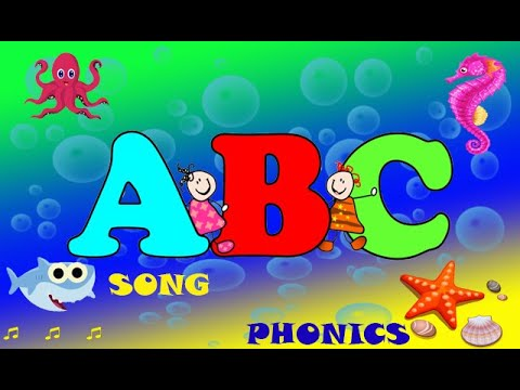 Baby shark ABC for Children. Learn phonics for kids-English alphabet sounds | ABC song-Nursery rhyme