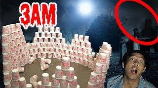 3AM DO NOT BUILD DEMONIC CUPANOODLE FORT!!!