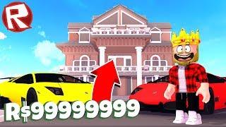 МОЙ НОВЫЙ ОСОБНЯК ЗА 9,999,999$! ROBLOX TYCOON