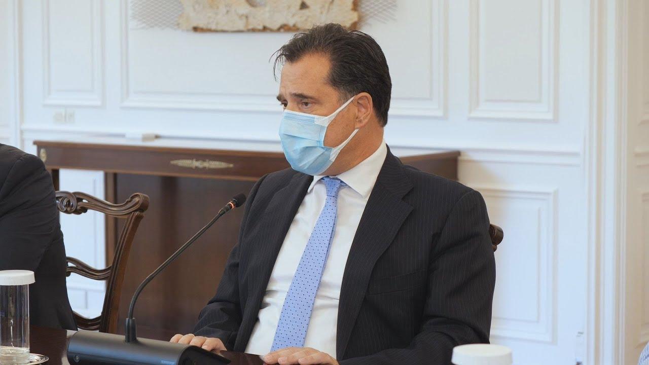 ο Υπουργός Ανάπτυξης και Επενδύσεων, Άδωνις Γεωργιάδης για τα μέτρα για τη στήριξη της εστίασης