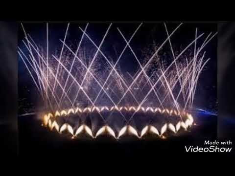 PSL3 opening ceremony fireworks