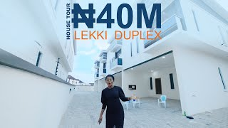 Inside a ₦40 MILLION ($112 Thousand) Affordable Duplex in Ikota Lekki, Lagos
