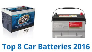 8 Best Car Batteries 2016