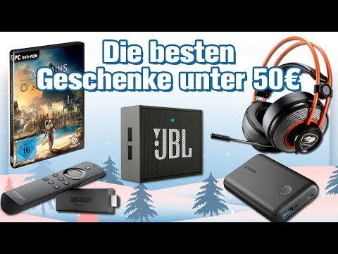 , title : 'Die 7 besten Technik-Geschenke unter 50 Euro (Weihnachten 2017) 🎄🎄 #Geschenke-Tipps'