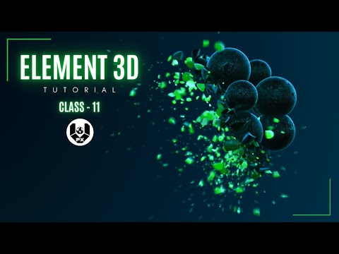 elements 3d after effects tutorial by vfx world