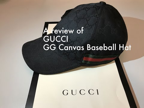 Gucci baseball hat review
