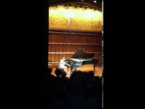 Haydn B Minor Sonata, performed at Milbank Chapel, Columbia University.