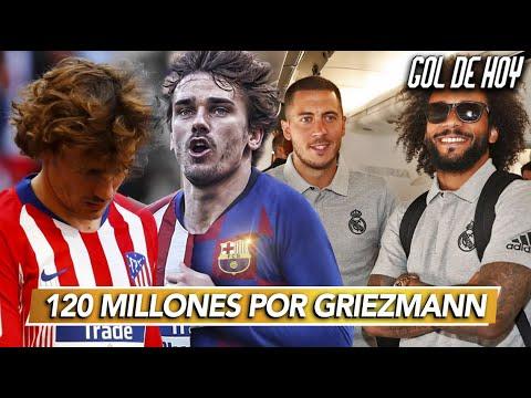 120 MILLONES por GRIEZMANN I L.ZIDANE se fue del REAL MADRID I #goldehoy