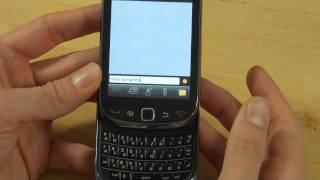BlackBerry Torch 9800 Test Bedienung