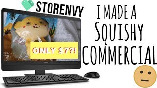 I MADE A SQUISHY COMMERCIAL!!! Squishy Store now Open