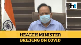 Health Minister Harsh Vardhan on Covid cases, fatality rate & RTPCR tests