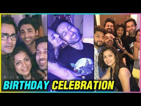 Nakuul Mehta BIRTHDAY Celebration With Drashti Dha