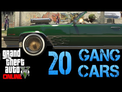GTA 5 ONLINE - ALL RARE AND SECRET 20 GANG CARS LOCATIONS 1.35 *NEW*