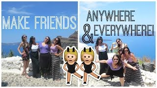 How To Make New Friends | Small Talk Topics + Tips!