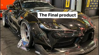 Building The StreetHunter Supra -Final Assembly & Sema, Official  TJ Hunt reveal , HyperDrive & More