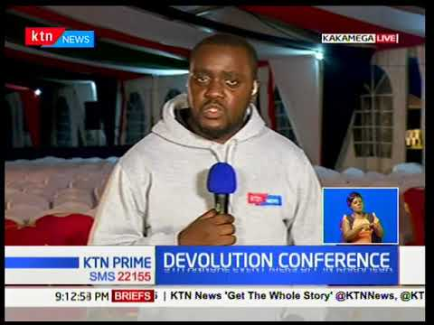 The 5th annual devolution conference kicks off at Kakamega