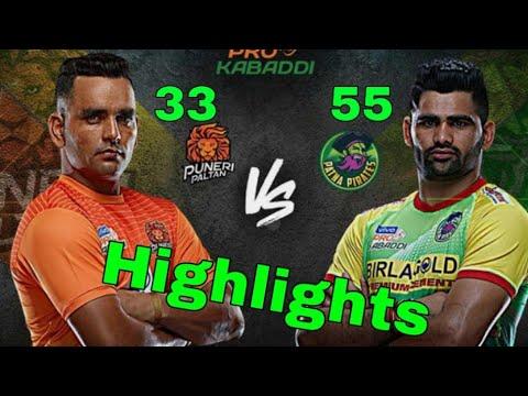 pro Kabaddi 2019 Highlights - Patna pirates vs puneri paltan - Hindi