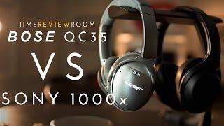 Sony MDR 1000x vs Bose QC35 - COMPARISON