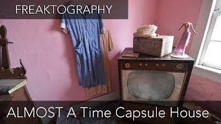 Urban Exploration: Abandoned Time Capsule House Full of Antiques