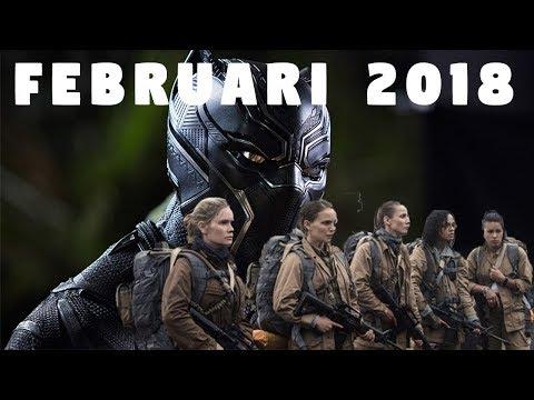 Info film hollywood rilis februari 2018
