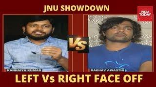 Kanhaiya Kumar Vs Raghav Awasthi Face Off Over JNU Fee Hike Protests | Newstrack With Rahul Kanwal