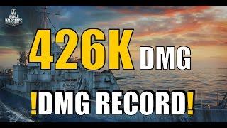 RECORD || 426K DAMAGE || GEARING -  World of Warships