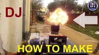 How To Make DMX Fire Machine And DJ Light