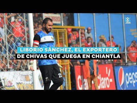 El portero exChivas que juega con el Deportivo Chiantla