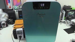 Мини холодильник 22л с двойной системой охлаждения регулятором температуры 12V/220V от компании Alexel - видео