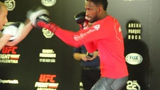 UFC Argentina: Neil Magny Open Workout (Complete) - MMA Fighting