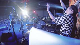 【Drumcam】Sword Art Online Alicization - LiSA ADAMAS【Linking tour with Colorful Moments】 HD