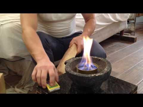 Cómo hacer una chimenea de etanol con un MOLCAJETE