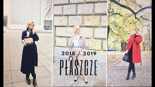 LOOKBOOK | Najpiękniejsze płaszcze JESIEŃ / ZIMA 2018-  2019 | Styl | BEATA M