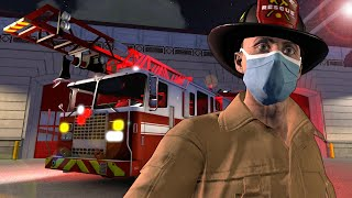 OB & I Became Firefighters That Only Hurt People In The New Update In Flashing Lights Multiplayer!