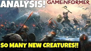 God of War 4 News- NEW CREATURES on GAMEINFORMER Cover! New Enemy types!