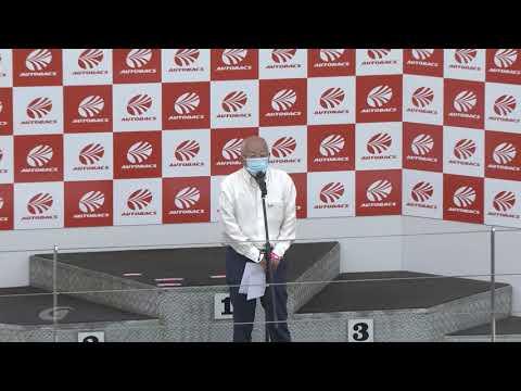 レースクィーンが彩を添える2020年スーパーGT 第5戦富士スピードウェイ 決勝レース直前のオープニング映像