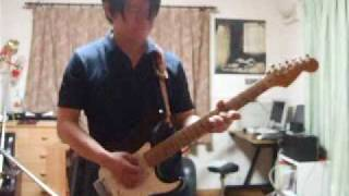 me playing suede europe is our playground guitar full ver.