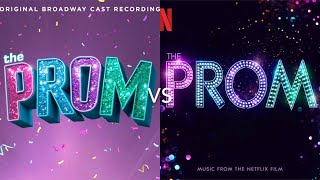 The Prom: It's Not About Me - Broadway Cast vs Movie Cast
