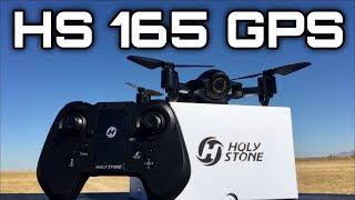 Foldable 1080p 5G Wifi FPV GPS Drone HOLYSTONE HS 165