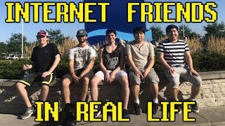 Meeting My Online Friends In Real Life