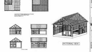 #G395 30 X 40 X 14 Garage With Apartment Plan