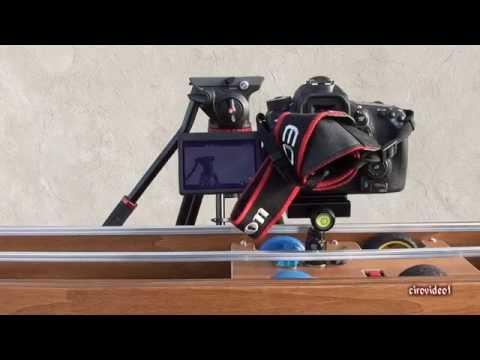 Slider fai da te per uso manuale o motorizzato