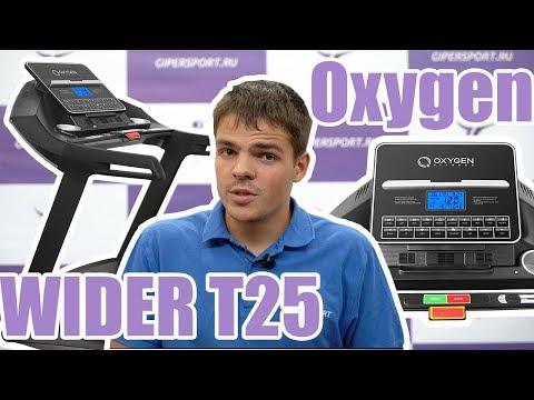Беговая дорожка Oxygen Wider T25