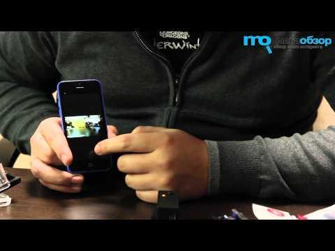 Экшн видеокамера SJCAM SJ4000 Wi-Fi черный - Видео